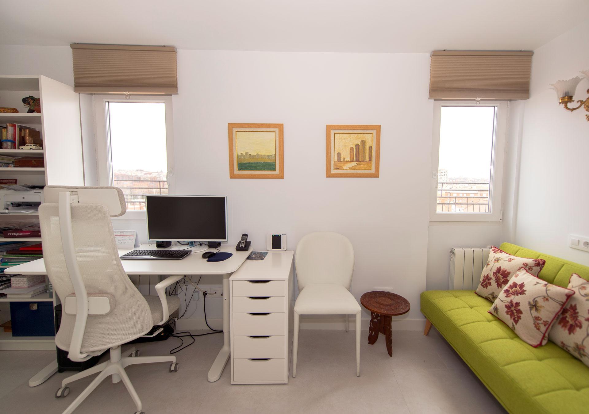Habitación para teletrabajo