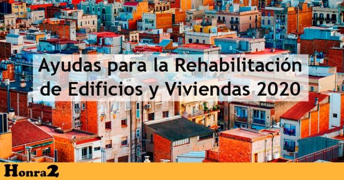 Ayudas reformas viviendas y edificios