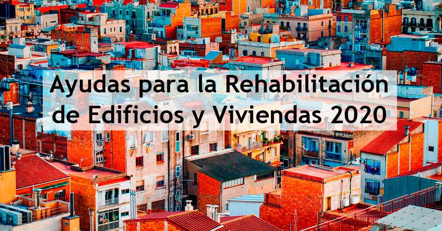 ayudas para la rehabilitación de viviendas y edificios de la Comunidad de Madrid