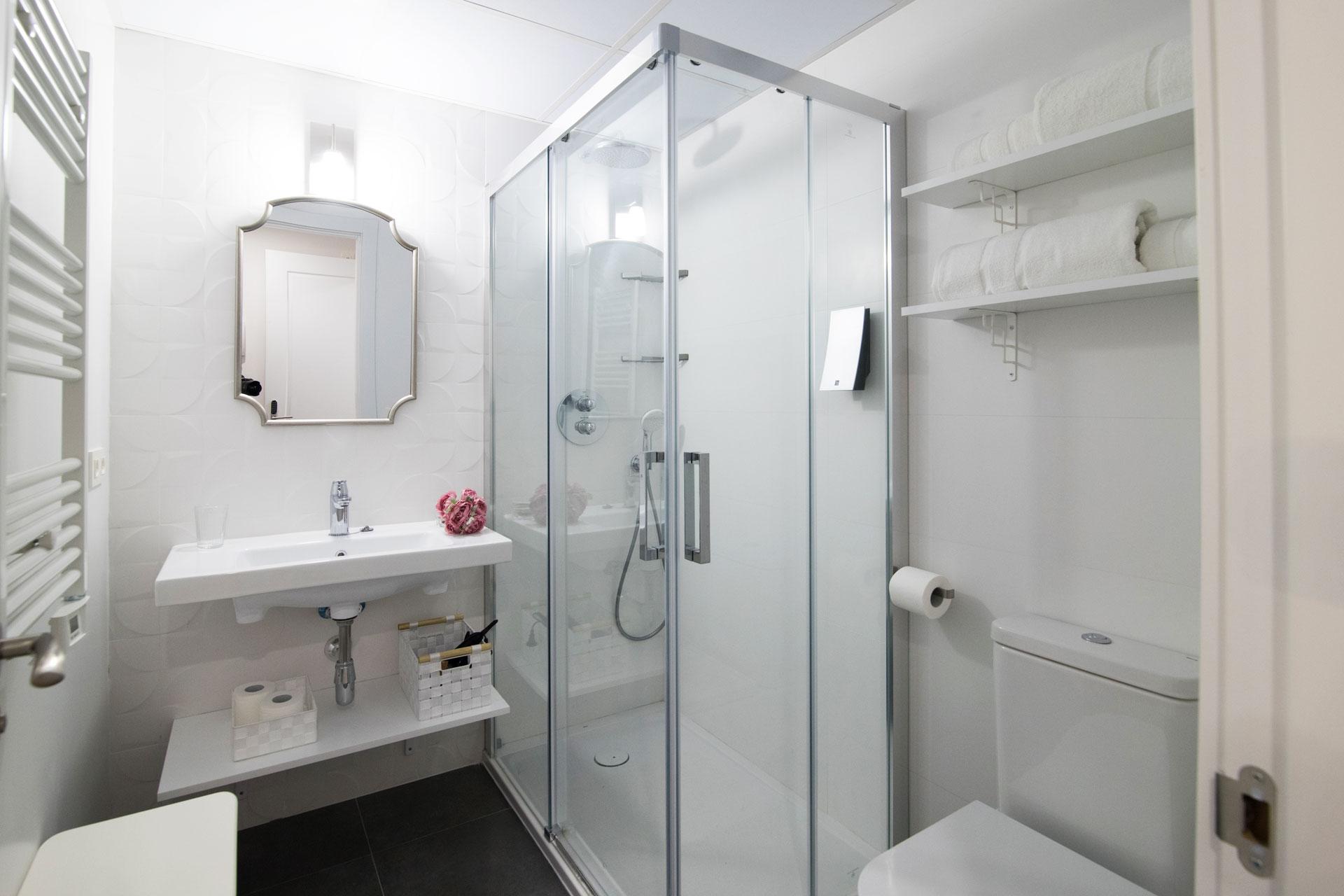 reforma baño en Arturo Soria