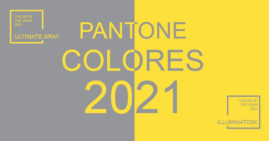 Pantone colores del año 2021